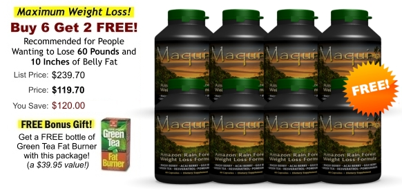 Buy 6 Maqui-6 Bottles and Get 2 FREE